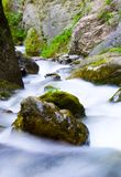 River. With rocks in Macedonia royalty free stock photo