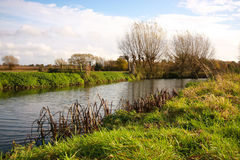 River. Cam in grantchester meadows Royalty Free Stock Photos