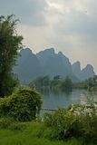 The river. River near Yangshuo royalty free stock image