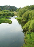 The river. The fine image of small river in the italian island - Sardinia Stock Photos