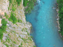 River. Tara in Montenegro royalty free stock photography