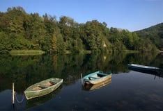 River Adda. Imbersago ( Lc),Lombardy,Italy,the river  Adda Royalty Free Stock Photo