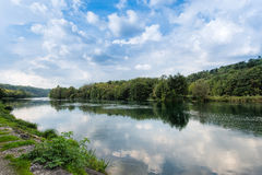 The river Adda Royalty Free Stock Photo