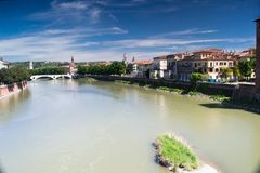 River adige Royalty Free Stock Photography