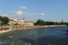 River Adige at Verona Stock Photos