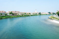 River Adige in Verona Royalty Free Stock Images