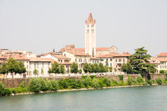 River Adige in Verona Stock Photography