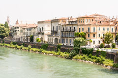 River Adige in Verona Royalty Free Stock Photography