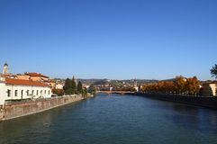 River Adige in Verona Royalty Free Stock Photo