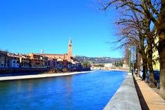 River Adige,Verona Italy Royalty Free Stock Image