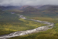 River in Alaska Stock Photo