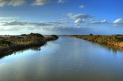 River of Alexande. Stock Images