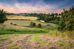 Free River Aln Country Walk At Lesbury Stock Photography - 98444822