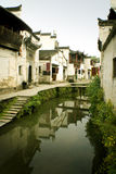 River And Ancient Buildings In South China Royalty Free Stock Photo