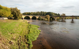 River Aquitaine Royalty Free Stock Photo