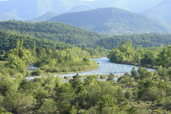 River Ara, pyrenees Royalty Free Stock Photos