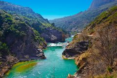 River Aragon Royalty Free Stock Photo