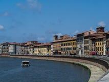 River Arno, Пиза Стоковое Изображение