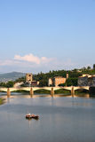 River Arno in Florence Stock Images