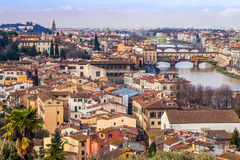River Arno And Florence Stock Image