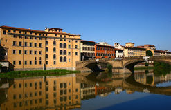 River Arno in Florence, Italy Stock Photos