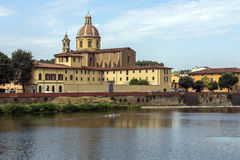 River Arno - Florence - Italy Royalty Free Stock Photos