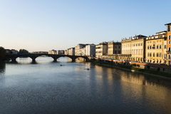 River Arno in Florence Royalty Free Stock Photography
