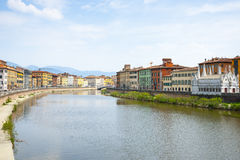 River Arno. Royalty Free Stock Image