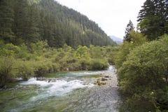 River around mountain background Royalty Free Stock Photos