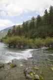 River around mountain Royalty Free Stock Image