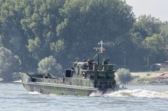 River assault ship Royalty Free Stock Images