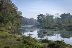 River At Sunrise Stock Image