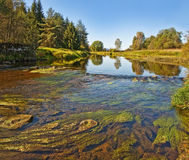 River in the autumn Royalty Free Stock Photos