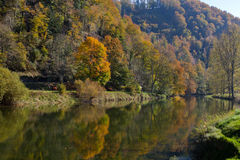 River in Autumn Stock Photos
