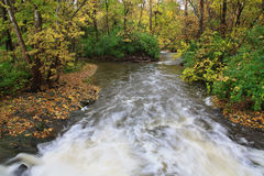 River In Autumn Royalty Free Stock Photos