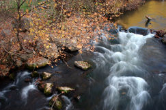 River and autumn Stock Photos