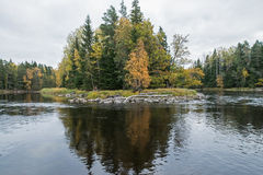 River in autumn Royalty Free Stock Image