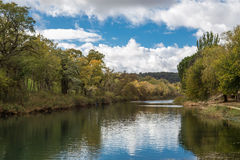 River in autumn Royalty Free Stock Photo