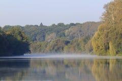 River at autumnal morning Royalty Free Stock Image