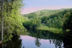 River aveyron Stock Image