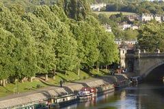 River Avon in Bath Stock Image