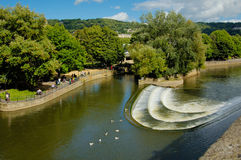River Avon in Bath Stock Image
