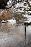 River Avon burst UK 2014 Stock Images