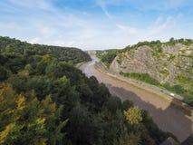 River Avon Gorge in Bristol Stock Photography
