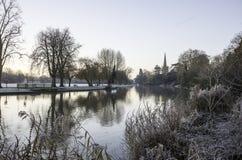 River Avon Stratford-Upon-Avon Stock Image
