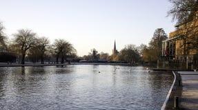 River Avon Stratford-Upon-Avon Stock Photos