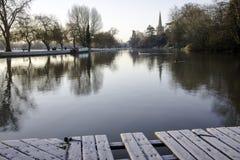 River Avon Stratford-Upon-Avon Royalty Free Stock Photo