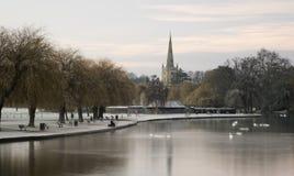 River Avon Stratford-Upon-Avon Royalty Free Stock Images