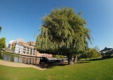 River Avon in Stratford upon Avon Stock Photos