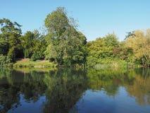 River Avon in Stratford upon Avon Stock Photography